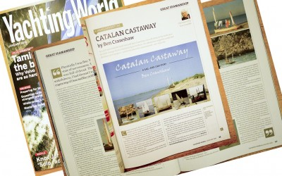 Tom Cunliffe on 'Catalan Castaway' in Yachting World