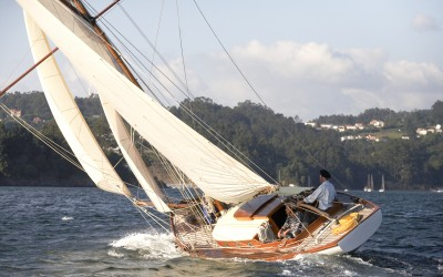 Sauntress in Yachting World