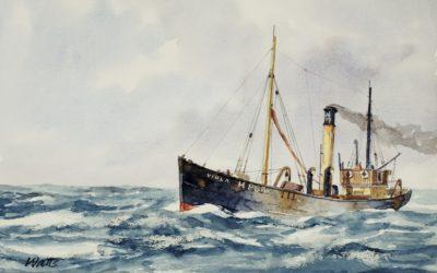Ghost ship of Grytviken